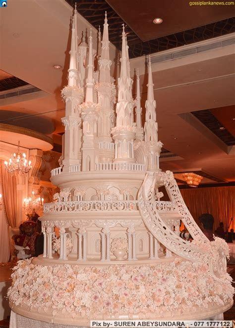 Tallest Wedding Cake in Sri Lanka ? Gossip Lanka Photo Gallery