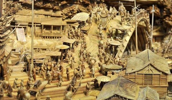 Longest Escultura em madeira (2)
