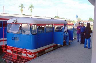 Railcar Train at Beaufort station
