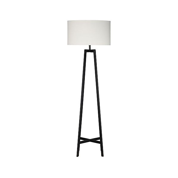 Castillo Floor Lamp in Floor Lamps, Torchieres | Crate and Barrel