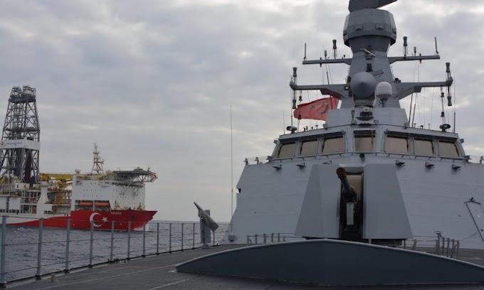 ΕΤΟΙΜΑΖΟΝΤΑΙ ΟΙ ΤΟΥΡΚΟΙ... Για το επόμενο βήμα... Άσκηση τουρκικής φρεγάτας & ''YAVUZ'' στην Ανατολική Μεσόγειο