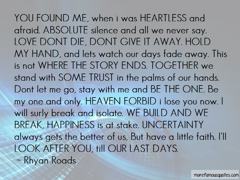 Dont Be Afraid To Say I Love You Quotes Top 1 Quotes About Dont