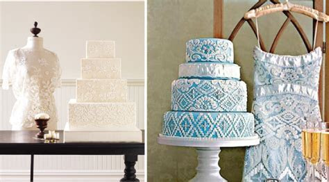 Inspirations: WHITE  Wedding Gown Inspired Cakes