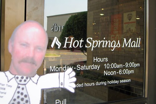 Flat Tony at Hot Springs Mall