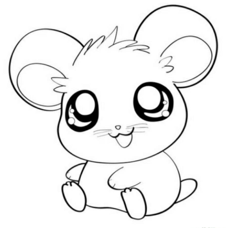 Trends For Kawaii Mouse Coloring Pages Anyoneforanyateam