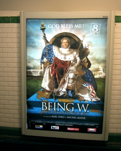 Karl Zero's 'Being W.' Poster Movie
