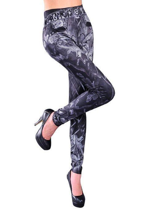POPULAR FUNKY LEGGINGS!! : Amour- Women's Pattern Leggings Cotton Stretch Pants - Many Designs (00-Adventure Time:Purple): Clothing