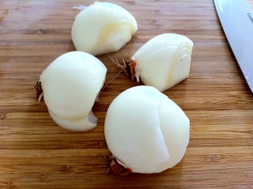 2 Medium Onions, Peeled and Halved