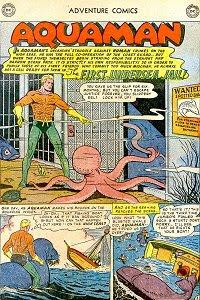Adventure #183 Aquaman Splash Page