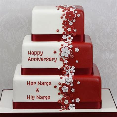 Happy Anniversary Cake Name Picture Online   wishes in