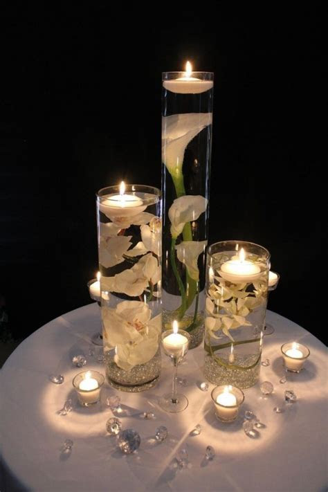 DIY Floating Candle Centerpieces Tutorial   BeesDIY.com