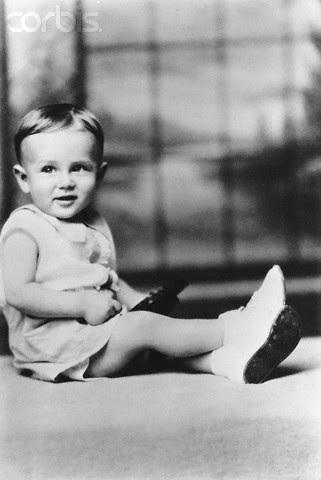 James Dean as a cute baby