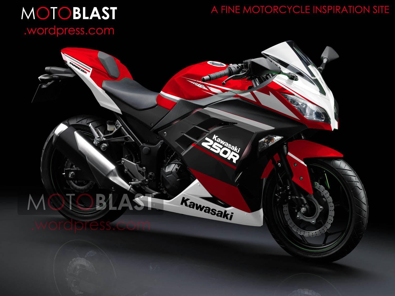 Kumpulan Modifikasi Motor Ninja 250 Abs Terbaru