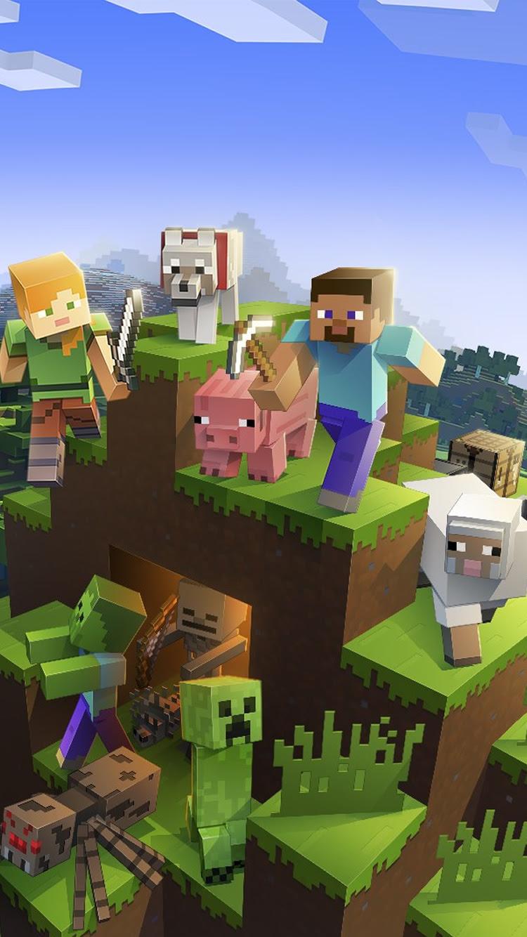 Minecraft マインクラフト 壁紙 ゲーム Iphoneチーズ