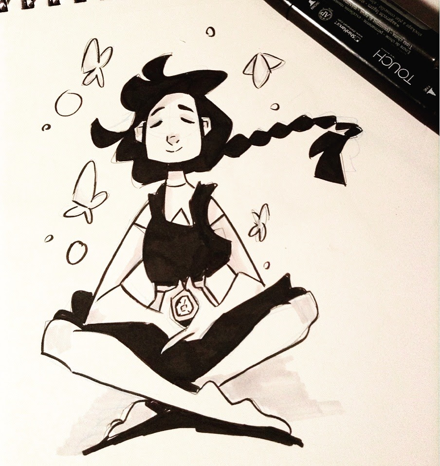 rushed, but stevonnie for inktober #21