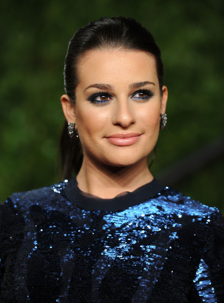 Lea Michele - 2011 Vanity Fair Oscar Party Hosted By Graydon Carter - Arrivals