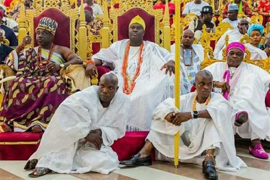 Ooni Of Ife Attends Imo Yam Festival, See Photos!