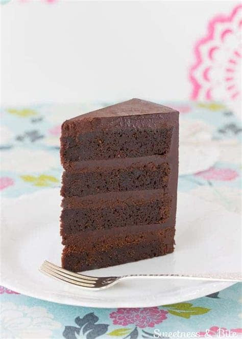 Gluten Free Dark Chocolate Mud Cake   Sweetness & Bite