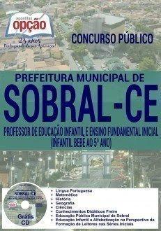 postila Concurso Prefeitura de Sobral 2016 Professor Municipal