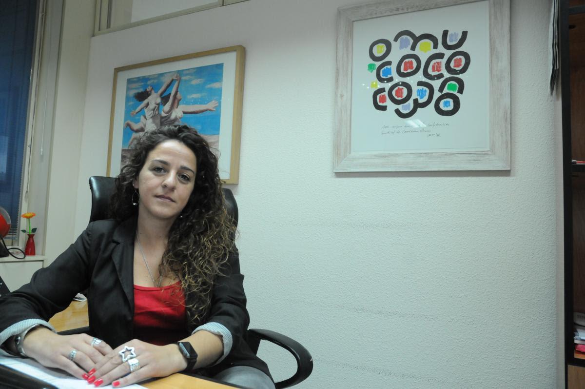 Elena Blasco Martín, secretaria confederal de Mujeres e Igualdad de Comisiones Obreras.