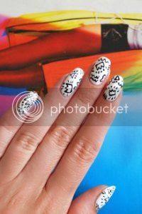keith haring nail art, tutorial, nail inspo