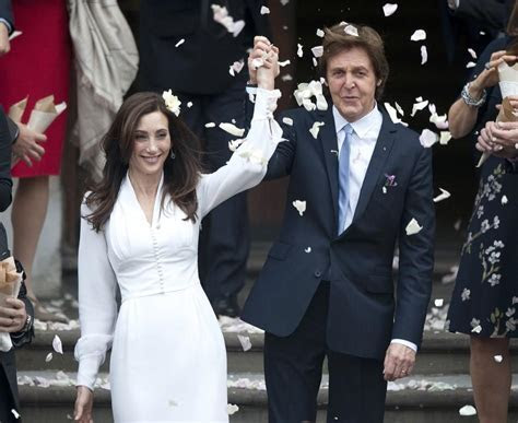 Paul McCartney Marries for the Third Time (Wedding Photos)