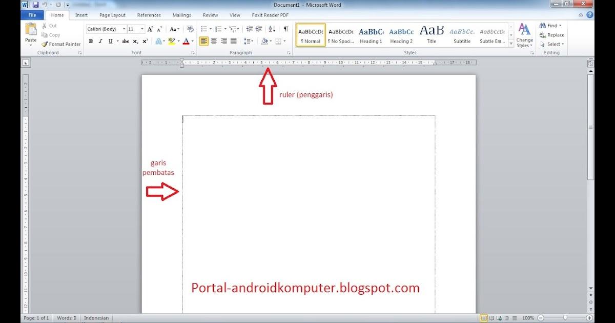 Cara Membuat Posisi Gambar Di Samping Teks Microsoft Word ...