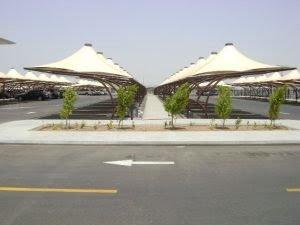 مظلات سيارات وادي الدواسر