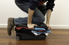 Four Signs You Have a Packing Problem. Packing Tips for those who have left their passport at home, cleaned up messy shampoo spills or stuff their suitcase too much! Via Independent Traveler