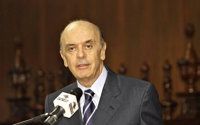 Ex-governador José Serra (PSDB)  foi eleito, em 2014, senador por São Paulo