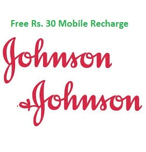 Get Rs.30 Recharge from Johnson Baby Lucky Draw