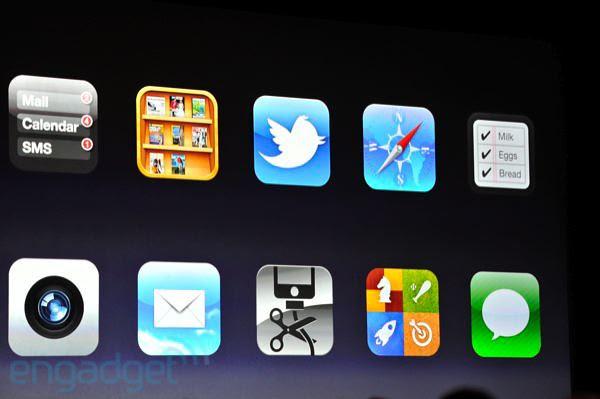 iOS5:200種新功能中的10種功能