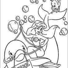 The Little Mermaid coloring pages : 32 free Disney ...