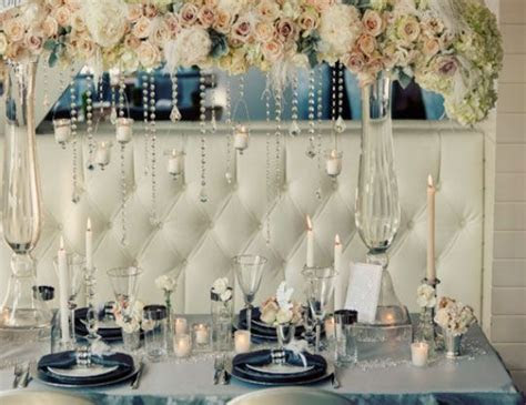 Winter Wedding Ideas   Elegant Table Setting   Click pic