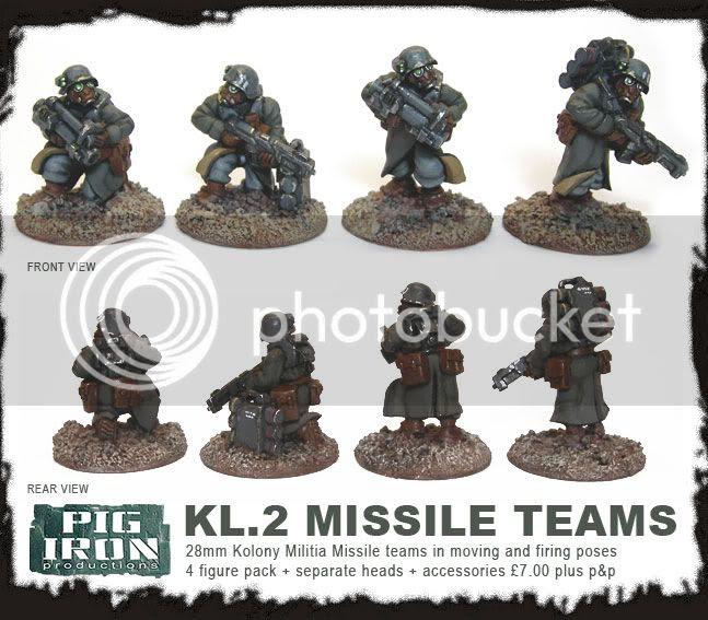 Pig Iron Missiles