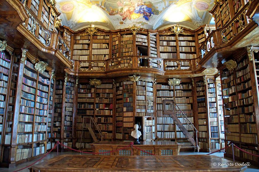 Biblioteca del Monasterio de San Florian, Austria