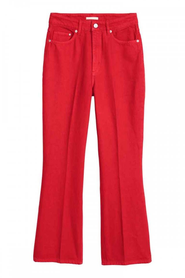 Cropped flare τζιν, Η&Μ, 39,99 €