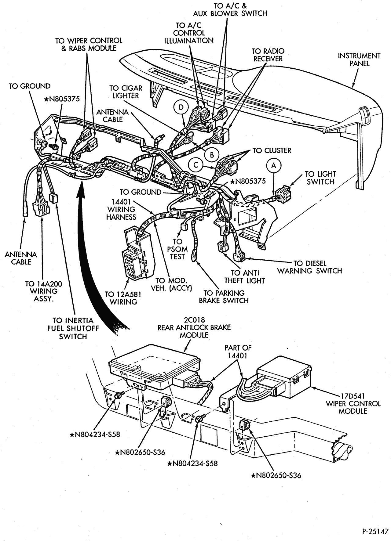 Ford E 150 Fuse Diagram For 96 - Wiring Diagram