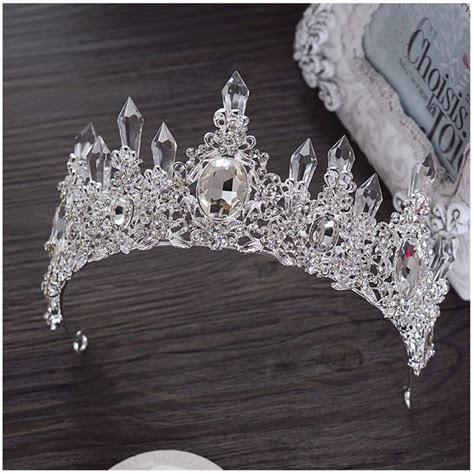 Stunning Wedding Bridal Tiara Crown Swarovski Crystals