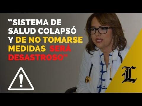 #ENVIVO: Advierten que el sistema de salud colapsó por el virus