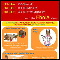 Ebola Poster What to Do if you have signs Ebola