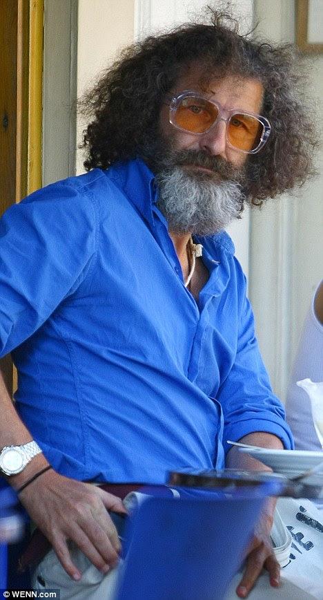 And the winner is... Jeff Stewart, sporting his Zeus-like beard in 2009, has won a Best Actor award in American film Under Jakob's Ladder