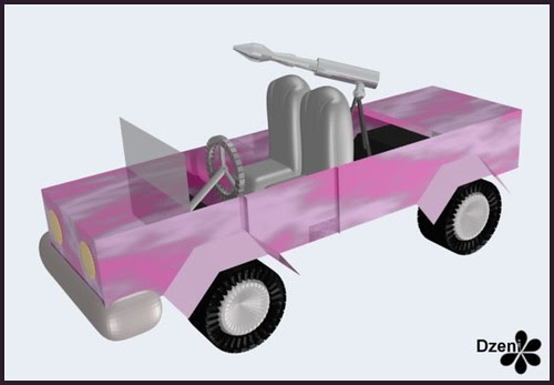 Barbie's Jeep
