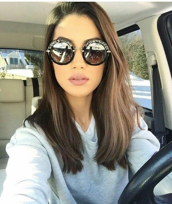 Medium length hairstyle for women 2019
