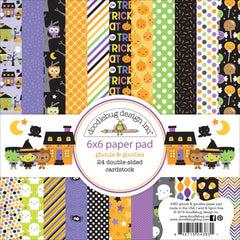 Ghouls & Goodies 6x6 Paper Pad-Doodlebug