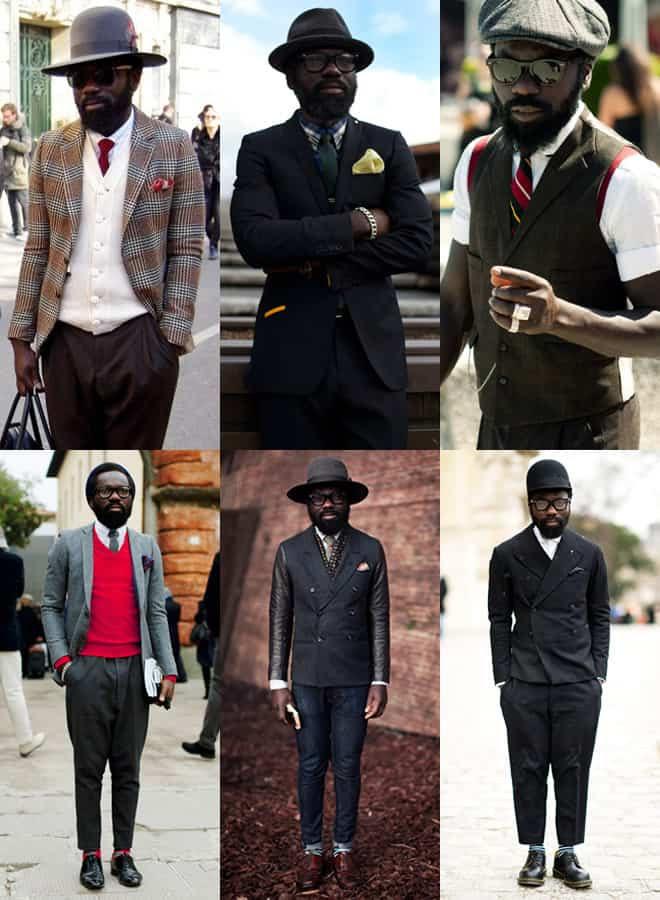 Sam Lambert Style Lookbook