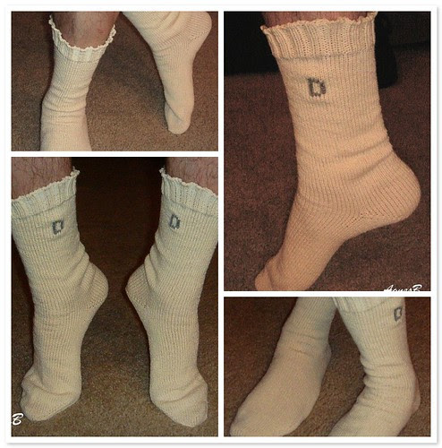 Having Fun with Maizy Socks
