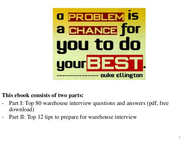 137 warehouse interview questions and answers pdf