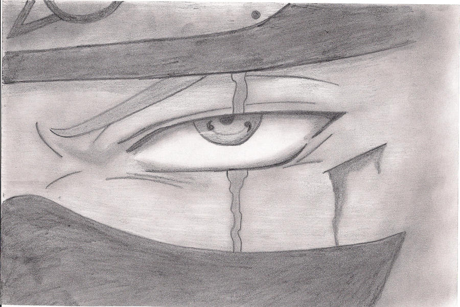 Kakashi Hatake Sharingan Drawing