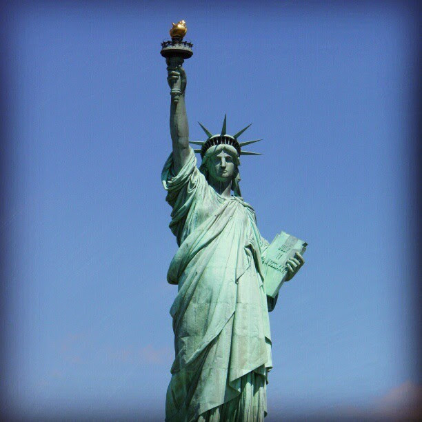 zrnshabrina:  FREEDOM! (New York- June 28, 2011) #travel #USIPP (Taken with Instagram)